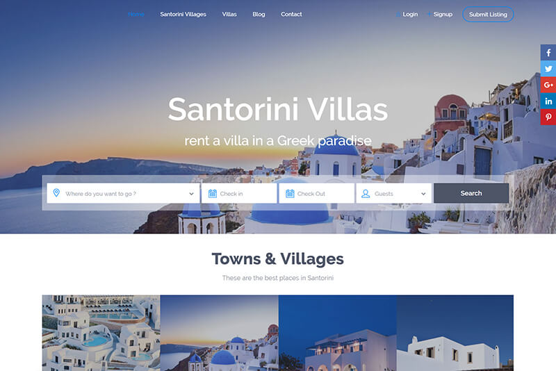 Holiday Rentals - E-Commerce Booking System (2)