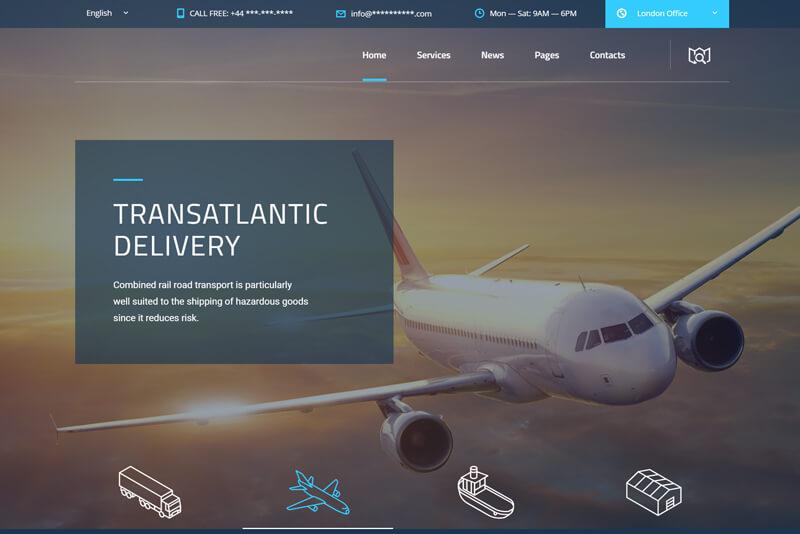 Logistics - WordPress CMS (2)
